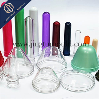 PET Plastic transparent wide-mouth bottle preform