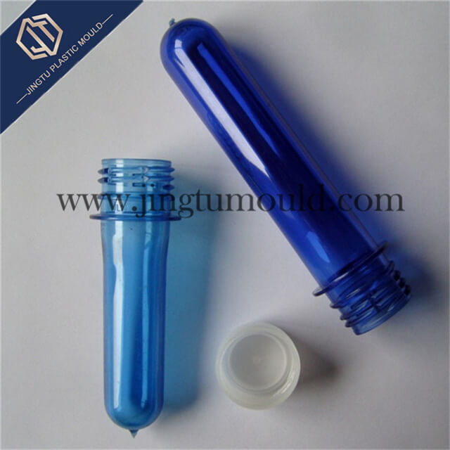 Bottle preform of plastic high-mouthful beverage bottle