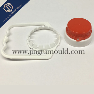 Plastic handle for convenient mineral water bottle