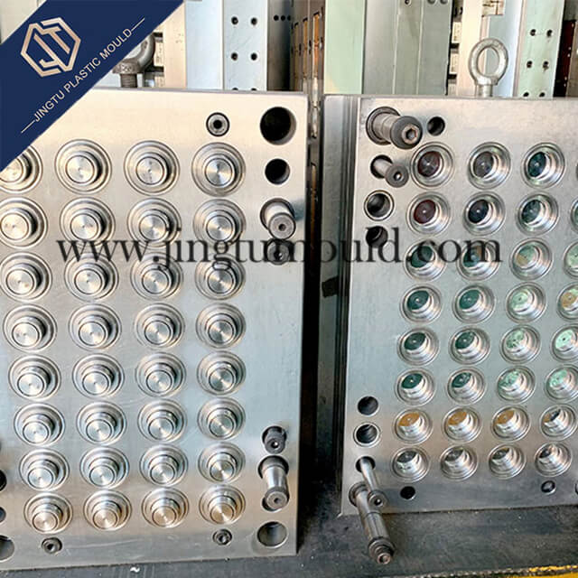 32-Cavity Injection Mold for PE Bottle Cap