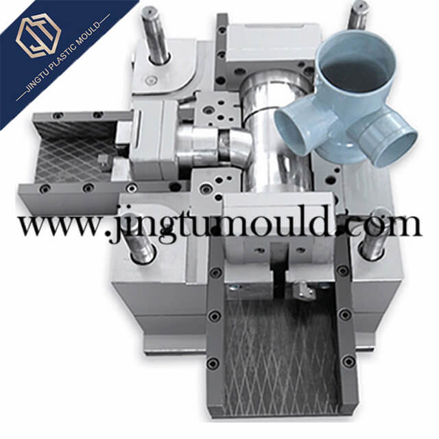Plastic Mould for Special-shaped Four-way Pipe Fitting
