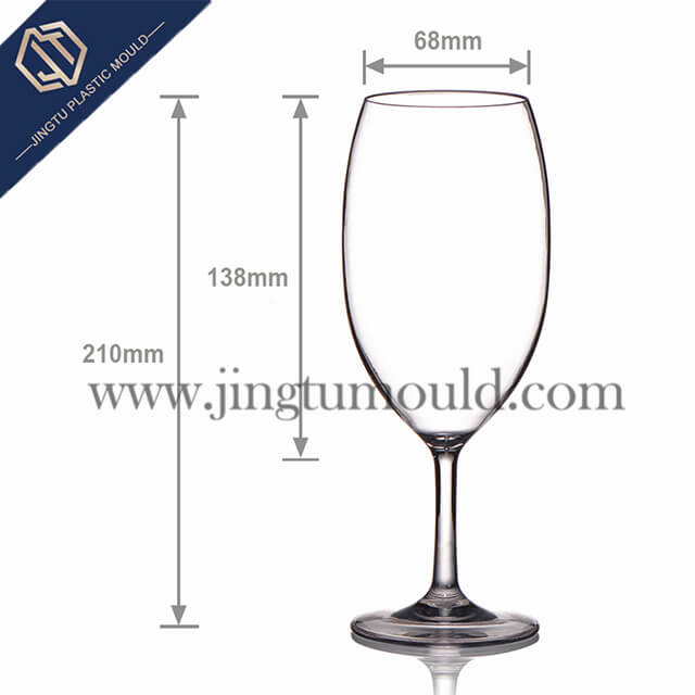 Transparent household Red Wine Goblet
