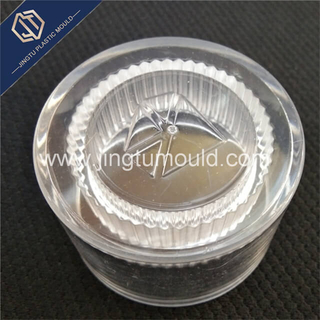 Acrylic transparent plastic cosmetic cover